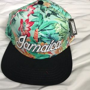 Accessories - Jamaica floral hat NWT